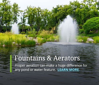 Pond Fountains Aeration Systems