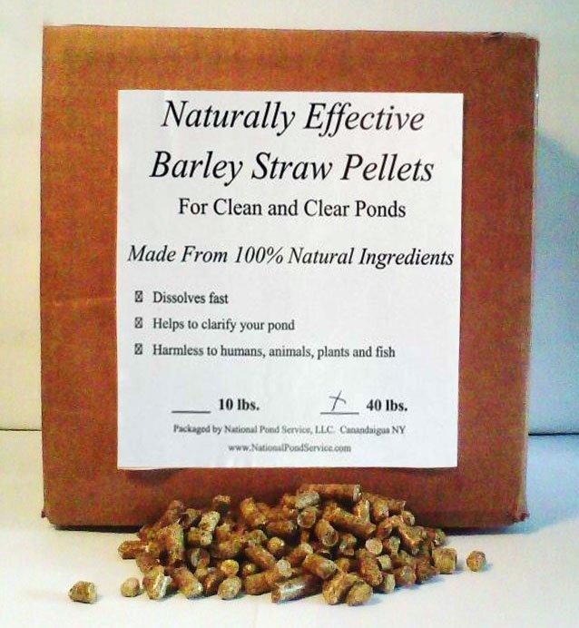 Pond Water barley straw pellets 40 lb.